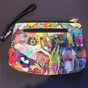 Handbags - Colorful Print Purse